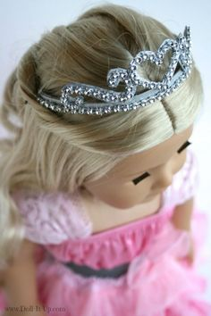 Update: Thanks for letting me know the PDF link was not working! I have updated the links so you should be able to access the pattern! ———————————————————————– Yesterday I posted the royal doll throne I made for Camp Doll Diaries. To complete the royal look in the photos, I made a tiara for our dolls....Read More »