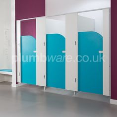 Fast delivery toilet cubicle pack for children. Ideal for schools.