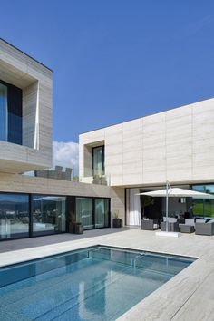 Studio Pha have completed a #villa in the town of Decín, Czech Republic.