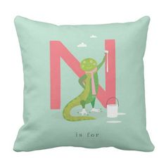 N is for... pillow
