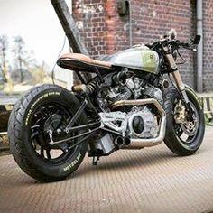 What a Nice Yamaha Virago by 🏆🏆🏆 Virago Cafe Racer, Yamaha Cafe Racer, Yamaha Virago, Yamaha Motorcycles, Cafe Racer Motorcycle, Motorcycle Design, Motorcycle Gear, Custom Motorcycles, Motorcycle Store