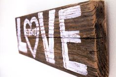 Custom Rustic White Wedding Sign Decor Personalized Date Love Wedding Sign Beach Wedding Reception Reclaimed Distressed Wood Photo Prop via Etsy