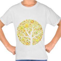 Ayşe Kıyas - gövdesiz reto ağaç - Kendin Tasarla - Çocuk Tişört