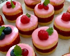 Punčové mini tortičky (fotorecept) - Recept