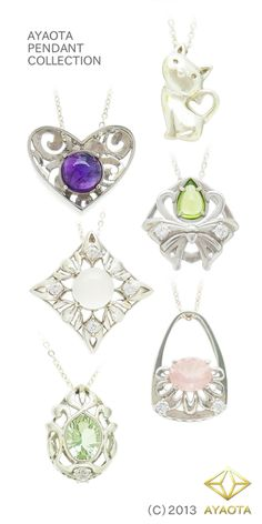 AYAOTA Silver Pendant Collection