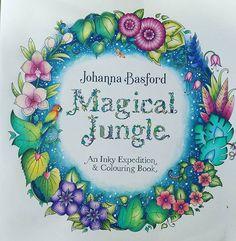 Inspirational Coloring Pages by @edyta.wojcyk1985 #magicaljungle #selvamagica #johannabasford #livrosdecolorir #coloringbook #coloringbookforadults