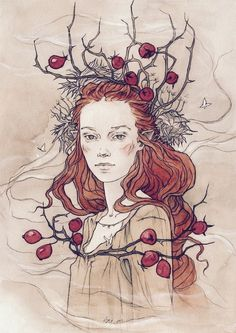 THE ROSEHIP QUEEN... A Witches tale . | Posts by Raven wood | Bloglovin'