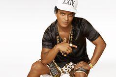 Bruno Mars vem ao Brasil em novembro \o/