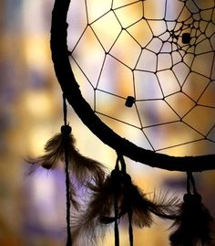 Dream Catcher. I had to hang one above my sons bed to trap the bad dreams. It worked ;)
