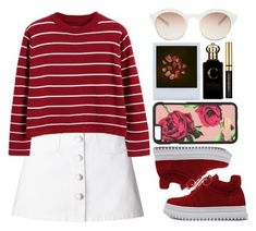 """""""Roses are red violets are blue"""" by ginga-ninja ❤ liked on Polyvore featuring Miss Selfridge, WithChic, Chicnova Fashion, Dolce&Gabbana, self-portrait and Clive Christian"""
