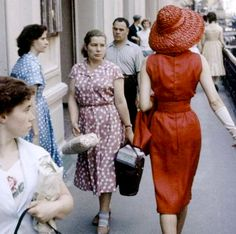 Dior in Moscow - Featured in Life Magazine. 1959