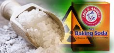 Sea salt and baking soda, best all natural remedy for curing radiation exposure