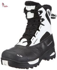 SALOMON Toundra mid WP W 100997, Chaussures de randonnée femme - Noir-TR-L-1-265, 38 EU - Chaussures salomon (*Partner-Link)