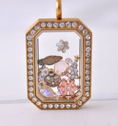 Heritage locket from Origami Owl! denah.origamiowl.com
