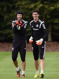 Could you ask for two better goalkeepers? 10 years of service from Cech and now the future coming through in Courtois