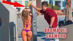 BROMAS PESADAS   Broma del shampoo - Los Mejores Videos de Risa 2016