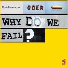 """Social Interaction oder - why do we #fail?"" #urbanpoetry #berlin #wien #zürich"