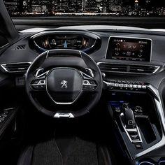 #Peugeot #3008 2017 Interior da segunda geração do #crossover que disputa entre os SUVs do segmento C na Europa. Estreia a nova versão do painel  i-cockpit com volanre pequeno e quadro de inatrumentos digital elevado.  Na Europa é oferecido é com motores a gasolina (1.2L PureTech de 130 cv MT6 e AT6 e 1.6 THP de 165 cv AT6) e a diesel (1.6L BlueHDi 100 cv 1.6L BlueHDi 120 cv e 2.0L BlueHDi 180 cv). #CarroEsporteClube #Instacarros  #auto #cargramm #carplace #carporn #carro #carros #cars…