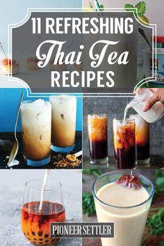 Thai Tea Recipes