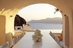 Santorini, Greece (@ Kirini in Oia)-- most beautiful place in the world!