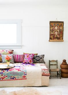 Decoración al más puro estilo bohemio by Justina Blakeney | Bohemian and Chic