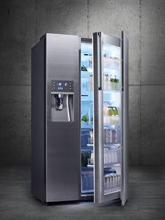 Gran frescura en un gran espacio, así es el nuevo refrigeradior Chef Collection RH9900. #CES2014