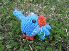Made to Order  Chibi Pokemon Amigurumi  Mudkip by corlista on Etsy, $34.00