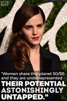 Emma Watson takes on gender inequality with #HeForShe campaign