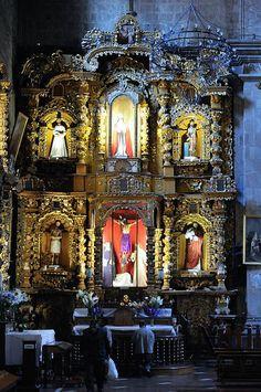 Iglesia de San Francisco, construida en 1753 - La Paz. Bolivia