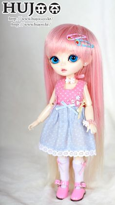 Ball-Jointed Doll - Hujoo Berry - Cutie Pink [$140]