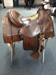 H. W. Hauser Saddle, Salida, Colorado | Ruxton's Trading Post