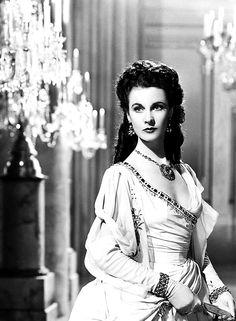 "Vivienne Leigh as Lady Emma Hamilton in ""That Hamilton Woman,"" 1941."