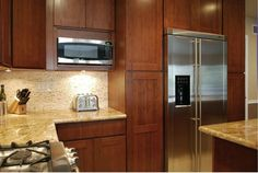 Bamboo Shaker Cabinets. Unique and durable.  www.wholesalecabinetcenter.com
