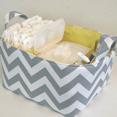 Diaper caddy.  Want to order for baby #2 with light blue liner. Www.etsy.com