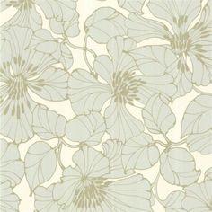 Pale Grey Gold Metallic Opal 30738 Passion Identity Harlequin Wallpaper | eBay