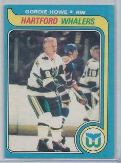 3b90b280f6c092 Gordie Howe 1979-80 OPC Hartford Whalers # 175 NM-MT #HartfordWhalers  Hartford