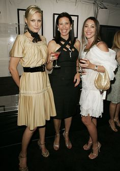 Alice Evans, Mimi Rogers and Tamara Mellon president/founder of Jimmy Choo (Photo by Donato Sardella/WireImage) Alice Evans, Mimi Rogers, Ioan Gruffudd, Dramatic Arts, Aging Gracefully, Jimmy Choo, Muse, Presidents, Idol