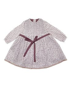 Dundelina   Purple Flower Apple Bloom Dress - Girls