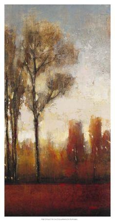 Tall Trees II Print by Tim O'toole at Art.com