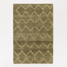 One of my favorite discoveries at WorldMarket.com: 5'x8' Green Zig Zag Shaggie Rug