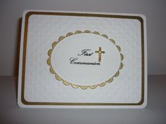 First Communion by lbl - Cards and Paper Crafts at Splitcoaststampers