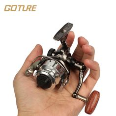 Goture Mini Spinning Fishing Reel MN100 4.3:1 10BB Small Fishing Reel Carp Fishing Wheel