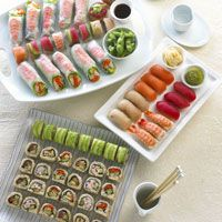 Sushi, yum. What I am craving more than anything right now.