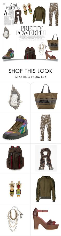 """""""wanna have fun"""" by emmamegan-5678 ❤ liked on Polyvore featuring Whiteley, SUSAN FOSTER, Neiman Marcus, Valentino, YOSHIO KUBO, Gucci, Brooks Brothers, Bijoux de Famille, Juun.j and NIGHTMARKET"""