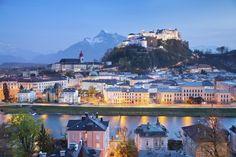 Le centre historique de Salzbourg en Autriche