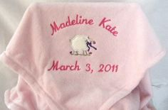 11 best personalized baby blankets images on pinterest our personalized baby blankets lovies are made with the best materials that fit the sens negle Gallery