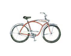 bike art print // 8x10  vintage hiawatha by eastashleystudio, $20.00