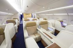 Inside Thai Airways' first A380 superjumbo