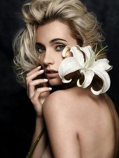 Flowers Photo: Roberto Masiero Make up&hair: Danijela Brozovic Make up