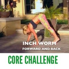 DAY 2 of my 7Day Challenge. Here's a core routine for you to plug into your chosen rotation! CORE CORE CORE!! PIYO Pike - 12x ** Frwd and Back Inchworm 12x ** Hover leg extensions -12x total REPEAT SERIES 3x ** Beginners modify leg extensions in plank or on you elbows. If you would like all of the workout suggestions, suggested meal planning, the guidelines to be sent to you in an easy to understand email please go to www.chalenejohnson.com or click here. How are you doing with the challenge?